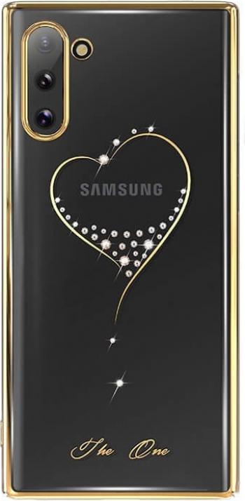 Husa Samsung Note 10 Kingxbar Wish Series Cristale Originale Swarovski Gold Huse Telefoane