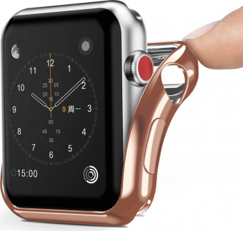 Husa Smartwatch Apple Watch Series 2/3 - 38 mm DUX DUCIS Gel Gold