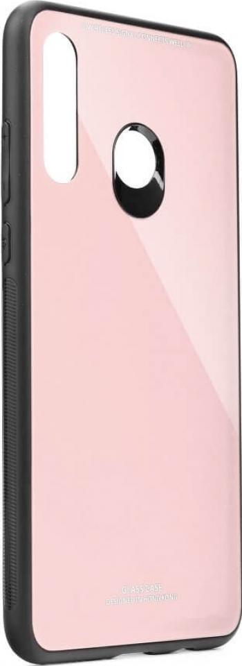 Husa Sticla Securizata Huawei P30 Lite Roz / Pink
