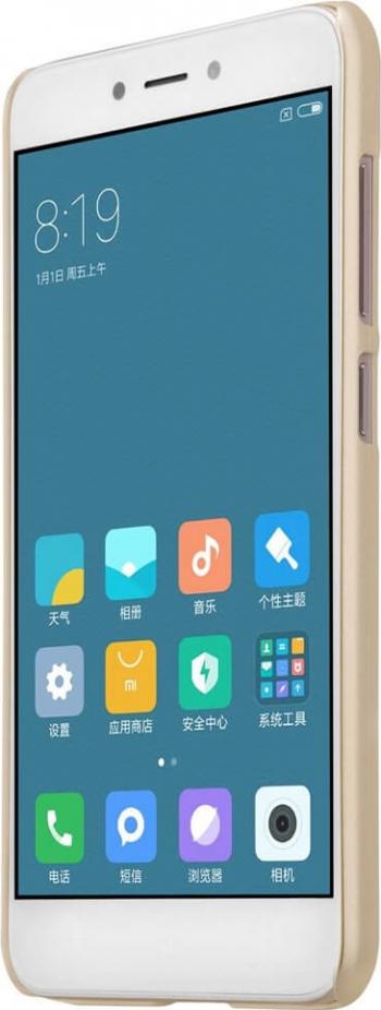 Husa Telefon Xiaomi Redmi 4X Nillkin Super Frosted Gold Huse Telefoane