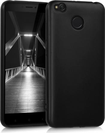 Husa Telefon Xiaomi Redmi 4X Silicon Soft Negru Huse Telefoane