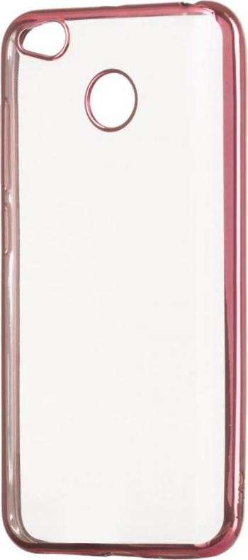Husa Telefon Xiaomi Redmi 4X Slim Metalic Roz Huse Telefoane