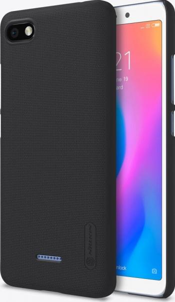 Husa Xiaomi Redmi 6A Nillkin Super Frosted + Stand Telefon Negru Huse Telefoane