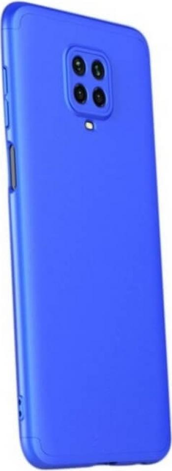 Husa Xiaomi Redmi Note 9 Pro / Xiaomi Redmi Note 9S Protectie 360 - Spate Camera si Laterale GKK Albastru Huse Telefoane