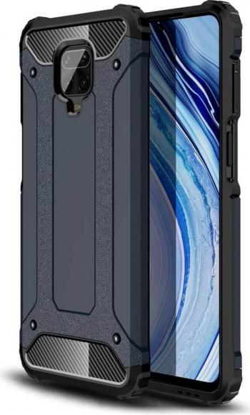 Husa Xiaomi Redmi Note 9 / Redmi 10X 4G Hybrid Armor Rugged Albastru Huse Telefoane