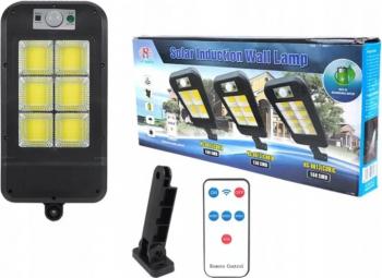 Lampa solara exterior 150 LED COB cu telecomanda Corpuri de iluminat
