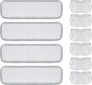 Set de 4 lavete si 6 Lavete cu Elestic pentru Vaporetto Accesorii Aspirator & Curatenie