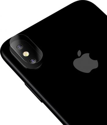 Set x 2 Folie Sticla Securizata 0.15mm - Protectie Camera iPhone XS / X
