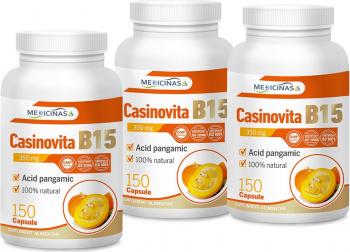 Casinovita B15 - Vitamina B15 Acid Pangamic pachet 3 luni