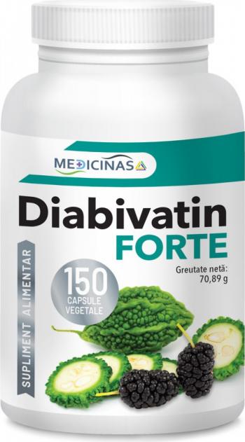 Diabivatin Forte Medicinas 150 cps.