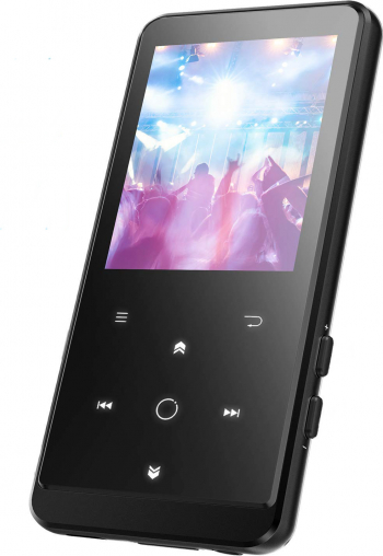 Mp3 Player AGPTEK HIFI Bluetooth 4.0 16GB Portabil FM Radio Voice Recorder 2.4 inch Touch buton MP3 Player