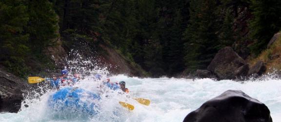 White water rafting pe raul Jiu pentru 2