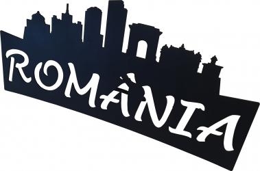 Decoratiune Birou Sigla Romania cu suport