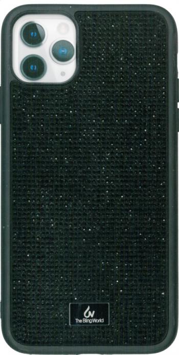 Husa protectie spate neagra Bling World Luxury pentru Apple iPhone 11 Pro 5.8 Huse Telefoane