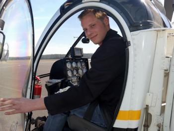Lectie de zbor cu elicopterul in Bucuresti