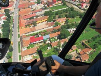 Lectie de zbor cu elicopterul in Oradea