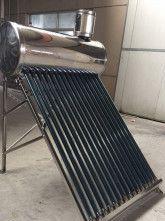 Panou solar apa calda nepresurizat - integral INOX - 100L 10 tuburi 58/1800