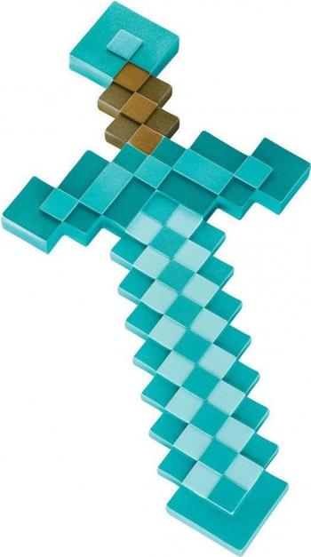 Sabie Minecraft Diamond - 51 CM - Originala Jucarii