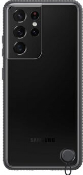 Samsung Galaxy S21 Ultra Clear Protective Cover Negru