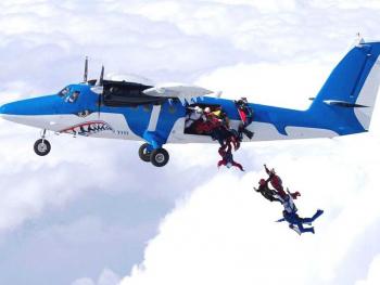 Skydiving - Salt cu parasuta in Bucuresti pentru 2 Experiente cadou