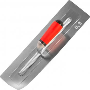 Gletiera Premium Finisaj ProFlex cu lama dubla SuperFLEXIBILA 0.3 mm INOX si Margini Rotunjite 40.5 x 11 cm Scule constructii