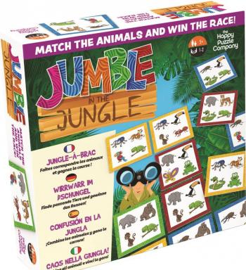 Joc asociere Jumble in the Jungle The Happy Puzzle Company Jucarii Interactive