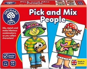 Joc educativ Asociaza personajele PICK AND MIX PEOPLE Jucarii Interactive