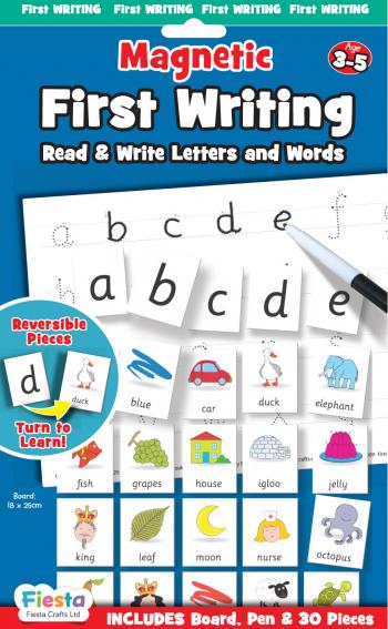 Joc educativ Primele notiuni de scris - Litere / First Writing - Fiesta Crafts Jucarii