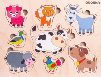 Puzzle Animale domestice - jucarie educativa Quokka Puzzle