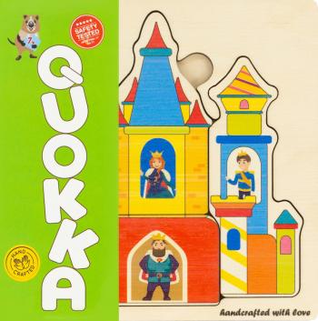 Puzzle Castelul - jucarie educativa Quokka Jucarii