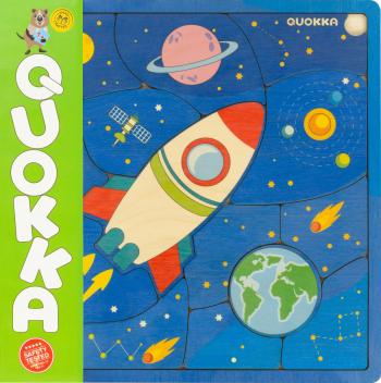 Puzzle Spatiul - jucarie educativa Quokka Jucarii