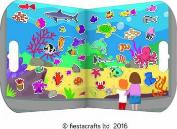 Stickere acvariu / Aquarium - Fiesta Crafts Jucarii Interactive