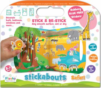 Stickere Safari / Stickabouts Safari Jucarii Interactive