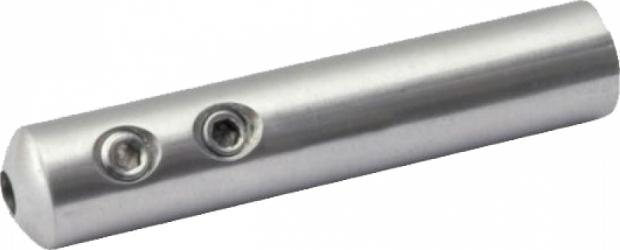 Conector din inox AISI316 pentru cablu de 4 mm finisaj satinat Accesorii materiale de constructie