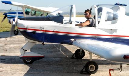 Lectie de zbor cu avionul in Oradea