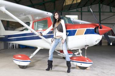 Lectie de zbor cu avionul in Pitesti