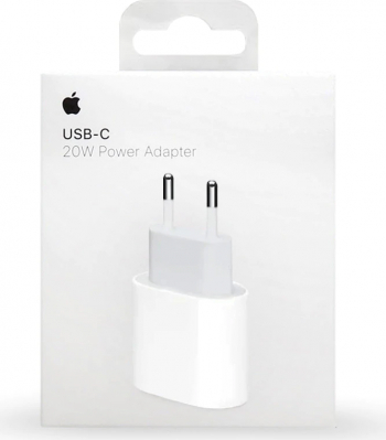Adaptor Fast-Charge iPhone 12 de 20w Apple Type-C Retail Box MHJE3ZM/A