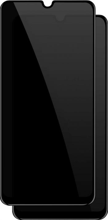 Folie sticla privata pentru Samsung Galaxy A41 5D Privacy Glass Black