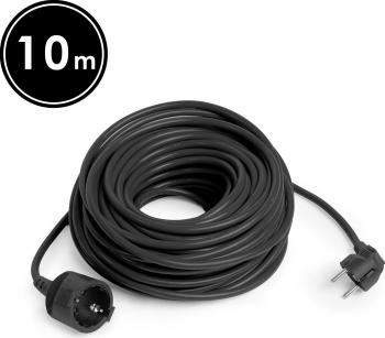 Cablu Prelungitor cu 3 Fire de 1.5mm Lungime 10m 16A Stecher Priza cu Impamantare si Protectie pentru Gradina Curte sau Casa