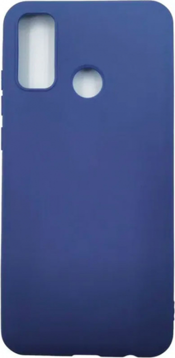 Husa Huawei P Smart S - Premium Htphone Liquid Silicon - Blue Huse Telefoane