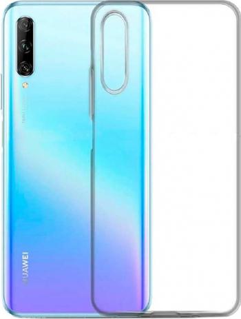 Husa Huawei P Smart S - Premium Htphone Liquid Silicon - Transparenta Huse Telefoane