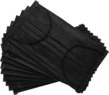 Masca faciala medicala tip 1 neagra produsa in Romania
