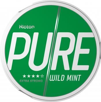 Snus PURE 16 mg - Fara tabac pe baza de nicotina - Wild Mint Vitamine si Suplimente nutritive
