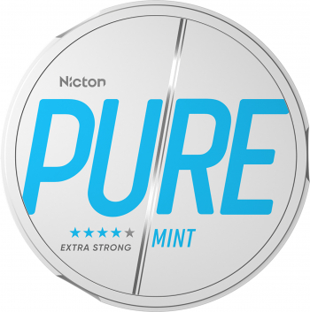 Snus PURE 20 mg - Fara tabac pe baza de nicotina - Mint Vitamine si Suplimente nutritive