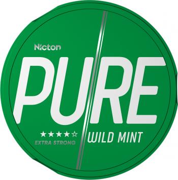Snus PURE 20 mg - Fara tabac pe baza de nicotina - Wild Mint Vitamine si Suplimente nutritive