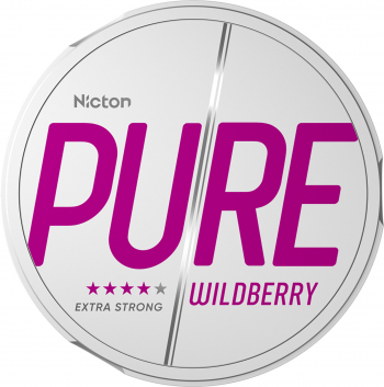 Snus PURE 20 mg - Fara tabac pe baza de nicotina - Wildberry Vitamine si Suplimente nutritive