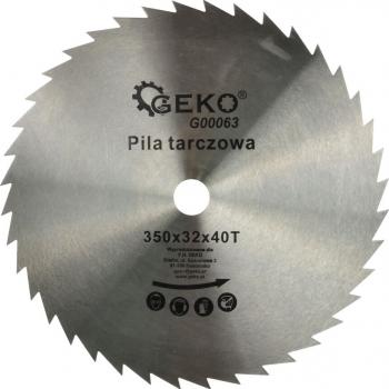 Disc pentru lemn 350x32x40T Geko G00063