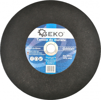 Disc pentru metal 350x3.5x32mm GEKO G00041