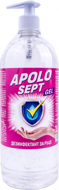 Gel Dezinfectant pentru Maini APOLO SEPT GEL 500 ml Gel antibacterian
