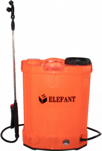 Stropitoarea electrica Elefant 16 L cu acumulator 6 bari regulator lance 85cm 3 duze Atomizoare si pompe de stropit